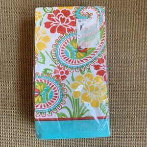 NWT 36 Ct Paisley Guest Napkins